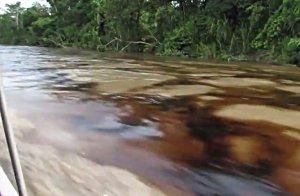 2013 Rio Napo Spill