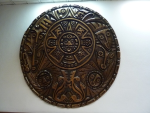Indigenous art in the Universidad Andina