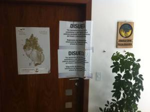 Fundacíon Pachamama was closed by police on 4th December