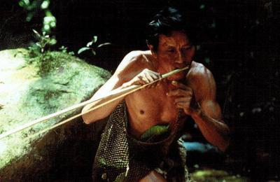 Vivir en armonía con la naturaleza, la gente Saryaku dependen de la caza, la recolección, la pesca y la agricultura a pequeña escala. Foto cortesía de Sarayaku